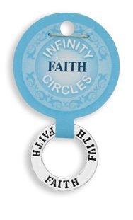 (Faith Infinity Circle Pendant)