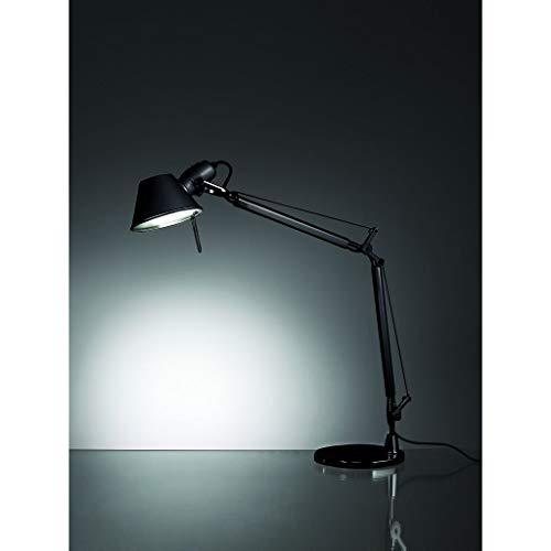 Artemide Tolomeo Table Lamp | with Base - Mini - Black