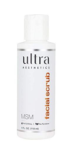 Msm Facial Wash - Ultra Botanical - MSM Facial Scrub - 4oz by Ultra Botanicals