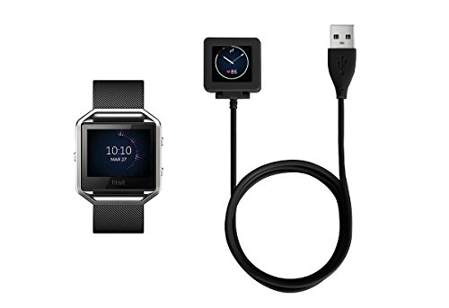 Soulen Compatible for Fitbit Blaze Charger, Replacement USB Charging Cable or Charging Charger for Fitbit Blaze Smart Fitness Watch