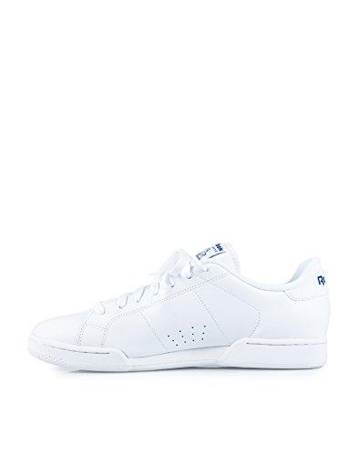 REEBOK Men NPC II Sneaker Herren Freizeit Fitness Sport Turn Schuh weiß 45
