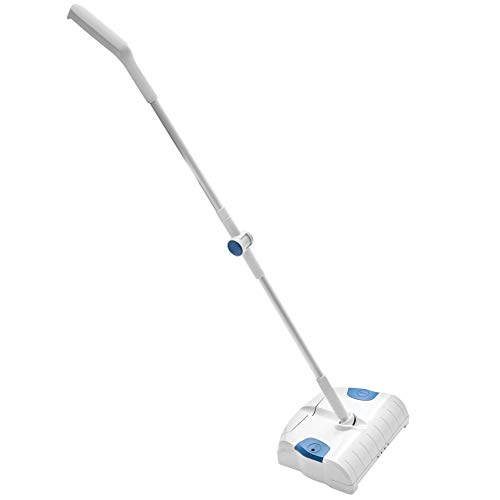 (Easy Lightweight Cordless Rechargeable Sweeper for All Surfaces Including Carpet, Tile, Hardwood Floors)