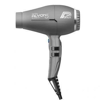 Parlux Alyon - Secador de pelo con ionizador de aire, color grafito