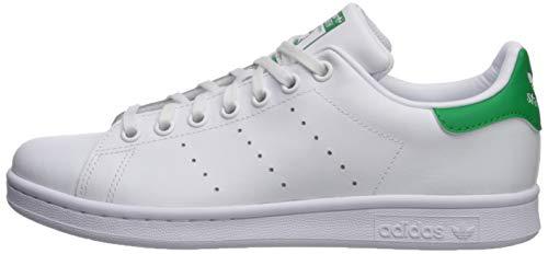 85ad3287b61e5c ... 5 adidas Originals Boys' Stan Smith J Shoe, White/White/Green, ...