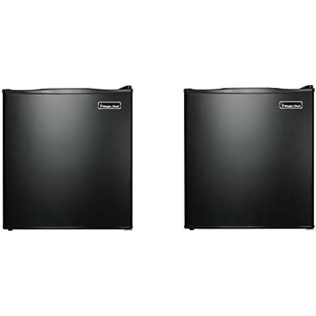 Magic Chef MCAR170B2 1 7 Cu Ft All Refrigerator Black Pack Of 2