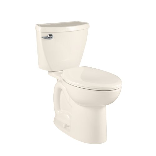 - American Standard Cadet 3 Compact Right Height Elongated Flowise Two-Piece High Efficiency Toilet with 12-Inch Rough-In, Linen Linen