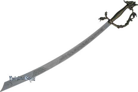 Belly Dance Dragon Scimitar Sword by Knights Edge