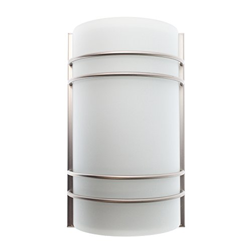 Access Lighting B20416MN-BS/OPL Artemis 2-Light Wall Sconce, Fluorescent ()