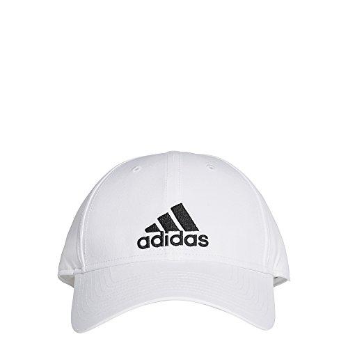 (adidas Classic Six-Panel Light Weight Cap (White))