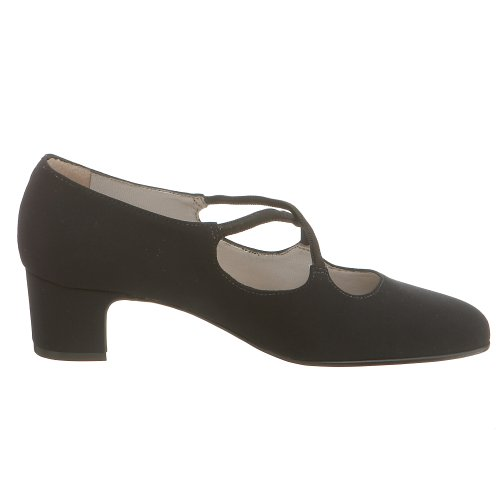 Trotters Women's N Jamie Pump B000CBUSMW 7.5 N Women's US|Black Micro Fabric d430d5
