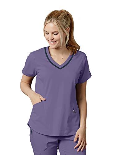 Grey's Anatomy Impact 7187 Women's Harmony Scrub Top Iris Glaze XL