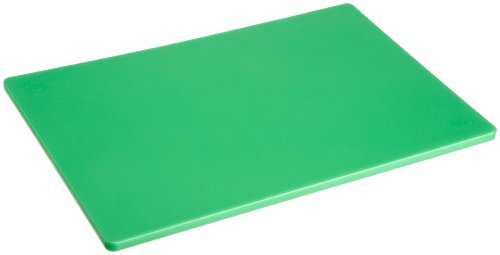 Plastic Cutting Board 12x18 1/2 Thick Green, NSF Approved Commercial Use