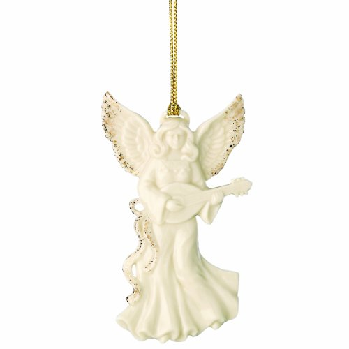 Lenox Angel with Mandolin Ornament ()