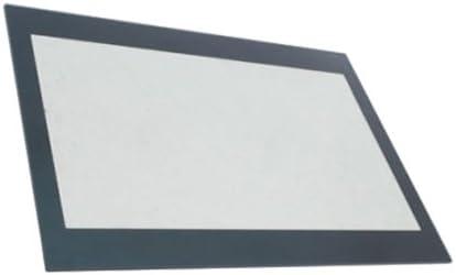 SPARES2GO Inner Door Glass Panel for Beko Oven 520mm X 398mm Fitment List C