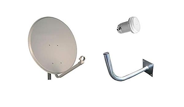Kit Parabólica 60cm Daxis + LNB + Soporte (x10): Amazon.es ...