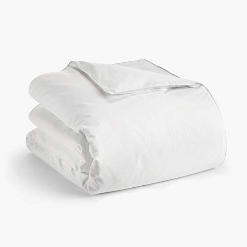 Claritin Ultimate Allergen Barrier Embossed Duvet Comforter Protector, with Zip-Off Cover to Defend Against Dust Mites, Pollen, Pet Dander and Other Household Allergens (King) ()