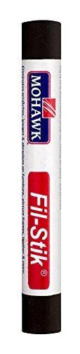 (Mohawk Fill Stick (Fil-Stik) Putty Stick for Wood Repair (Cappuccino Brown KMC)- Rub On Semi-Soft Wax Filler Stick)
