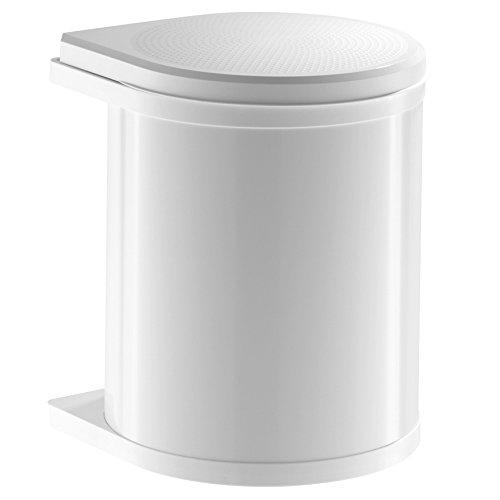 Hailo Compact-Box Bin, White, 15L 3555-001