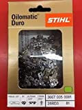 Stihl 3667 005 0081 Oilomatic Duro 26RD3 81 Carbide Chainsaw Chain, 20''