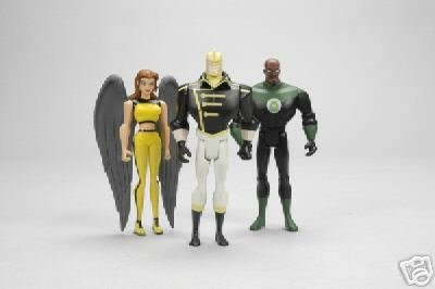 Justice League Unlimited SDCC & Wizard World Chicago Exclusive Action Figures 3-Pack (Green Lantern, Hawkgirl, The Ray) ()