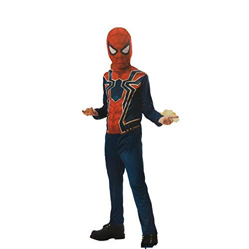 Marvel Avengers Infinity War Iron Spider Jumpsuit & Mask Costume Child Small -