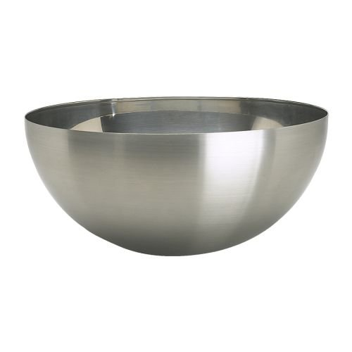 Ikea 000.572.56 Blanda Blank Serving Bowl, Stainless Steel, 14-Inch, Silver ()
