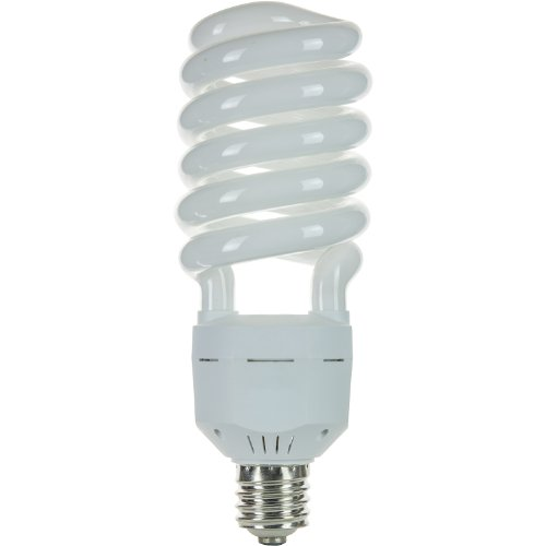 Sunlite SL85/65K/MOG 85 Watt High Wattage Spiral Energy Saving CFL Light Bulb Mogul Base 120 Volt Daylight (High Wattage Spiral)