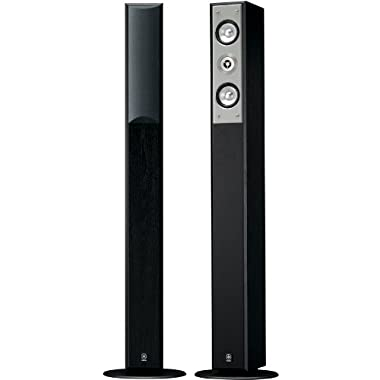 Yamaha NS-F210BL 2-Way Bass-Reflex Floorstanding Speaker - Each (Black)