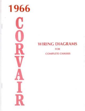 [SCHEMATICS_4UK]  Amazon.com: 1966 CHEVROLET CORVAIR Wiring Diagrams Schematics: Automotive | 1966 Chevy Wiring Diagrams Automotive |  | Amazon.com