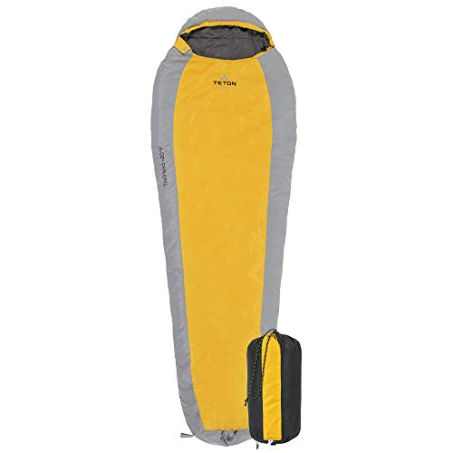 TETON Sports TrailHead Sleeping Bag for Adults; Lightweight Camping