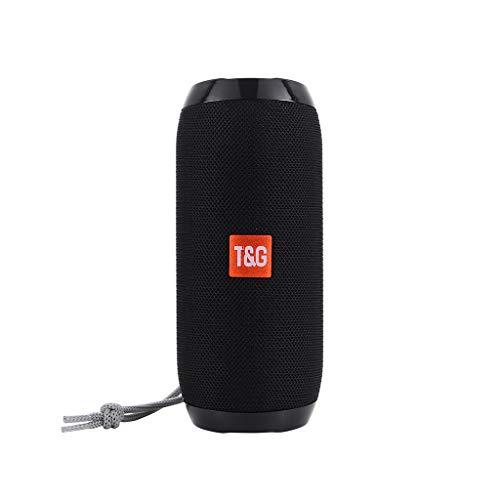 Fullfun TG 117 Wireless Bluetooth Speaker Mp3 Outdoor Stereo 3D Surround Bass USB/TF/FM Radio Audio (C)