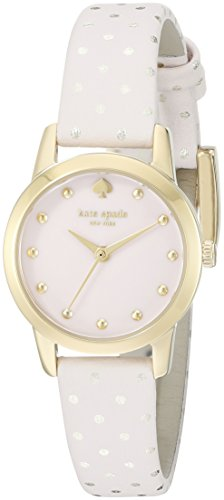 kate spade new york Womens 1YRU0919A Mini Metro Analog Display Japanese Quartz Pink Watch with Box