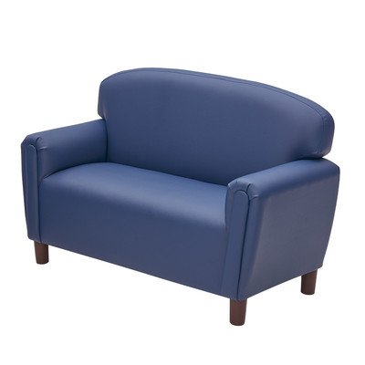 Just Like Home Enviro Child Sofa Size: Preschool (Ages 3-6), Color: Deep Blue