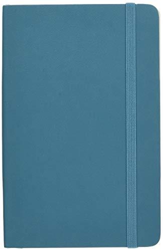 "Moleskine Classic Notebook, Soft Cover, Pocket (3.5"" x 5.5"") Plain/Blank, Underwater Blue"