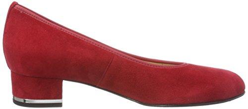 Hassia Vicenza, Scarpe con Tacco Rosso (Rosso)