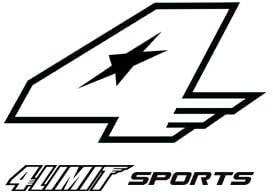 blanco 4Limit Sports 4Racing Chaqueta deportiva de piel para moto
