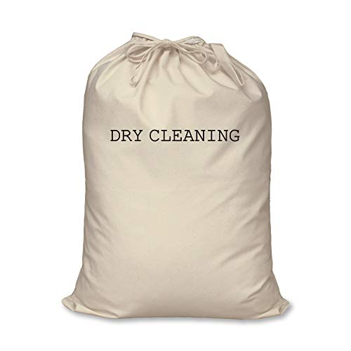 60 Second Makeover Limited Laundry Bag Dry Cleaning Gift 100% Natural Cotton Home Storage Organisation Washing Basket