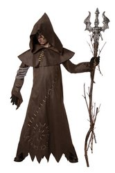 Costume Warlock Evil (Evil Warlock Child Costume Size)