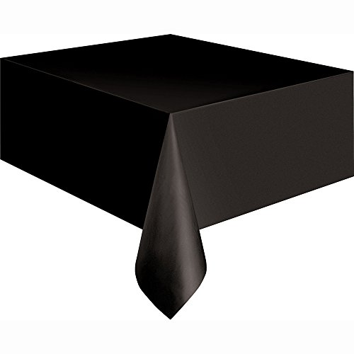 - Black Plastic Tablecloth, 108