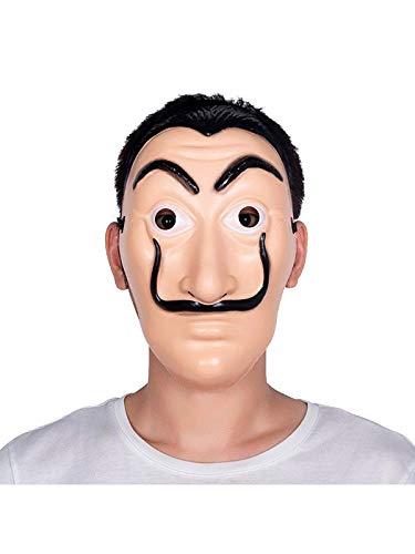 DISBACANAL Máscara Dalí Pintor: Amazon.es: Juguetes y juegos