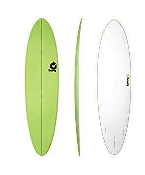 Tabla de surf Torq soft de 7.2 Funboard Green + Uso Suncare mawaii SPF{30