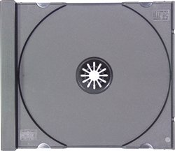 ANDARD Black CD Jewel Case (Tray Only, NO Cartons) ()