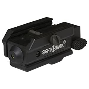Sightmark Triple Duty CRL Laser Sight has a compact, low-profile design with a built-in weaver mount and an extremely lightweight housing perfect for rapid fire