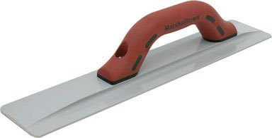 Marshalltown Magnesium - MARSHALLTOWN The Premier Line 145D 16-Inch by 3-1/8-Inch Beveled End Magnesium Hand Float with DuraSoft Handle