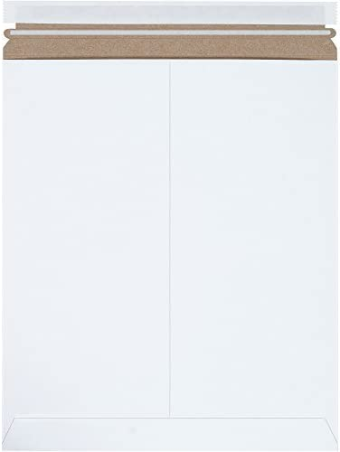 Boxes Fast BFRM4SS Self-Seal Flat Mailers 12 3/4 x 15 White (Pack of 100) [並行輸入品]