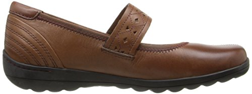 Rockport Womens Cobb Hill Laila Mary Jane Flat Almond MIas6F6OBd