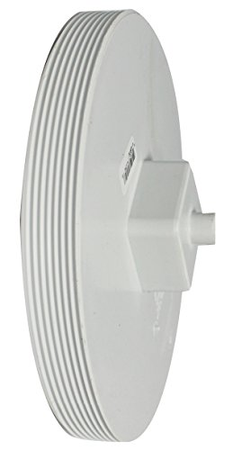 Canplas 414288BC PVC Sew 8 Cleanout Plug MPT (Threaded Plug Pvc)