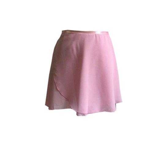 ModLatBal Girls Ballet Dance Chiffon Wrap Skirt (Skirt Wrap Adult)