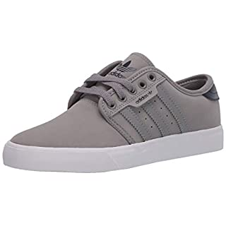 adidas Originals Men's Seeley Sneaker, Ch Solid Grey/Collegiate Navy/FTWR White, 5.5 M US