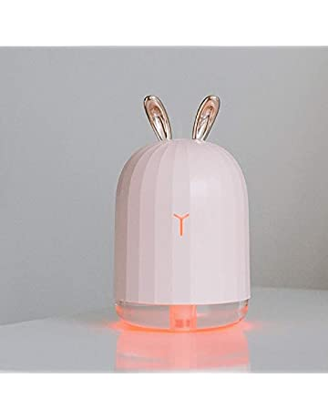 Rabbit Design Air Ultrasonic Humidifier Essential Oil Diffuser Atomizer Air Freshener Mist Maker with LED Night